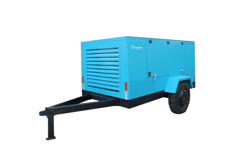 柴油机驱动移动式螺杆空压机