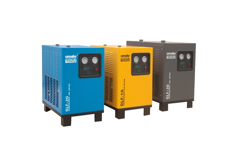 GLF节能风冷空压机压缩空气冷冻式干燥机