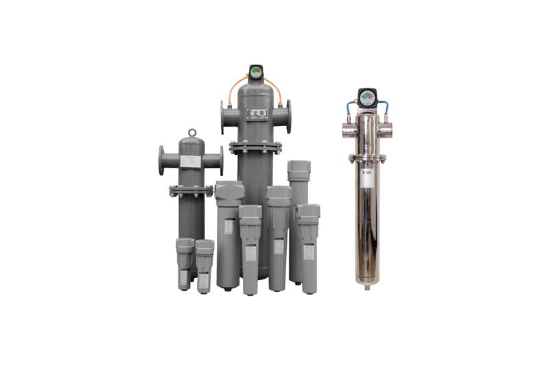 医用食品级GL空压机精密压缩空气过滤器