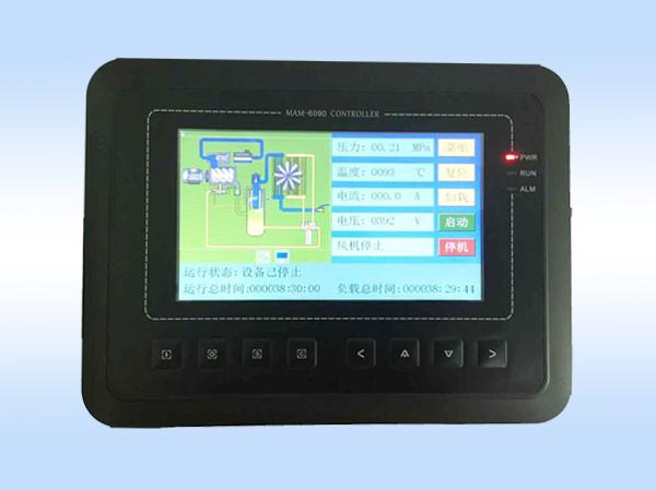 触摸屏一体机-MAM6090二级压缩机控制器