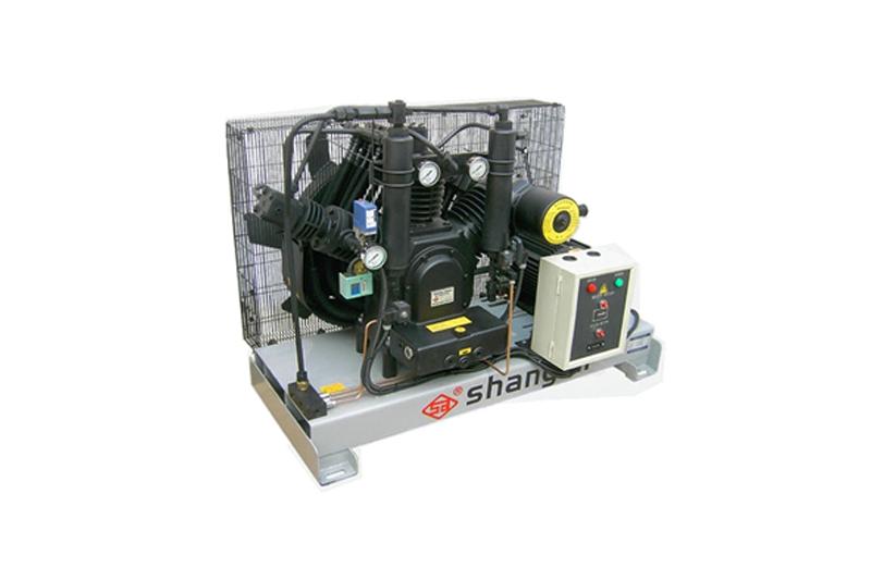 60/70WH卧式单机风冷活塞增压式中高压空压机