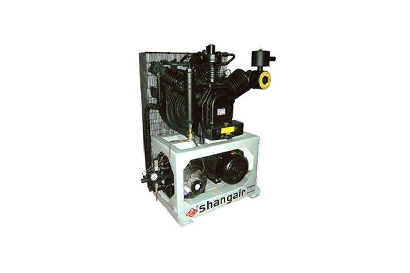 70WH立式单机风冷活塞增压式中高压空压机