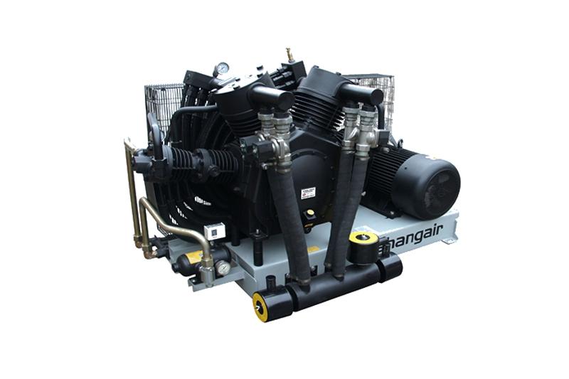 8A卧式单机风冷活塞增压式中高压空压机