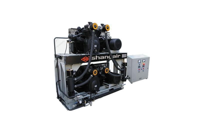 84SH卧式双层风冷活塞增压式中高压空压机