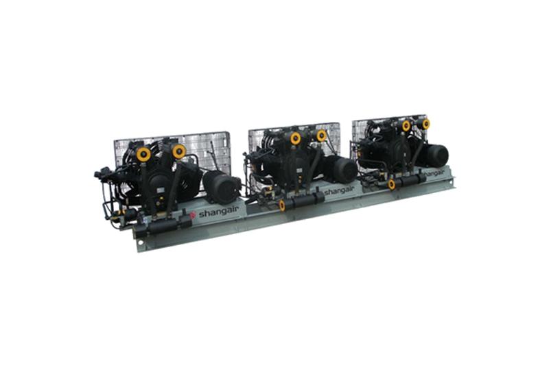 84SH卧式三机风冷活塞增压式中高压空压机