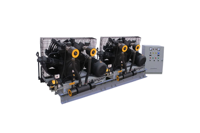 84SH卧式双机风冷活塞增压式中高压空压机