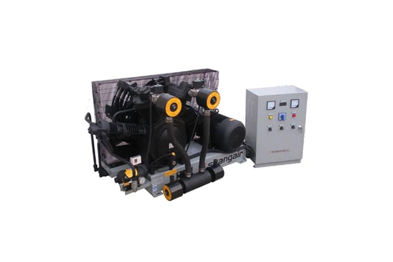 84SH卧式单机风冷活塞增压式中高压空压机