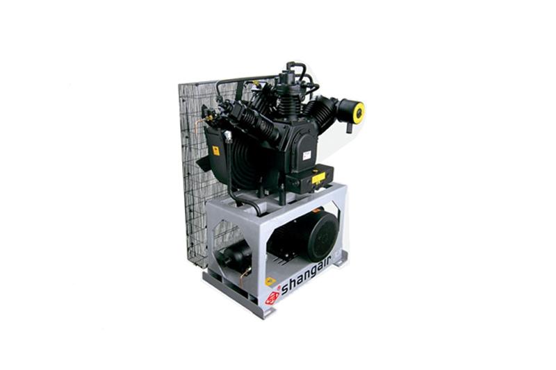 46WH立式单机风冷活塞增压式中高压空压机