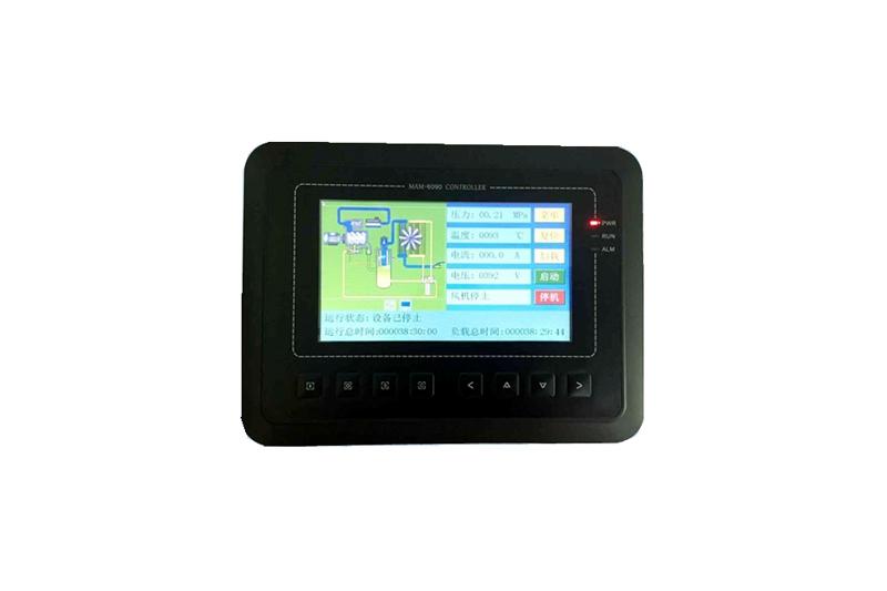 二级压缩螺杆空压机维修配件——MAM6090触摸屏一体式控制器