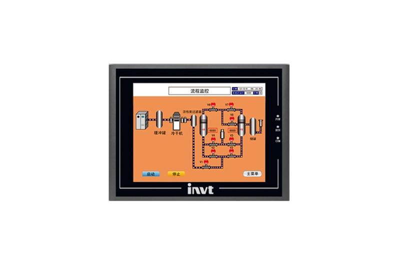 螺杆式空压机维修配件——英威腾VS系列空压机HMI人机交互触摸屏