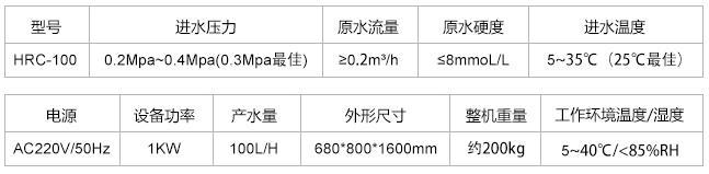 口腔专用纯水机HRC-100